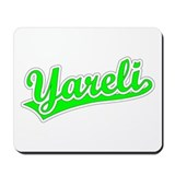 Retro Yareli (Green) Mousepad