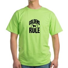 Golden Retrievers Rule T-Shirt