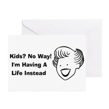 Kids No Way Greeting Cards (Pk of 20)