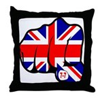 London Terror Attack Throw Pillow