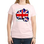 London Terror Attack Women's Pink T-Shirt