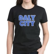 Retro Daly City (Blue) Tee