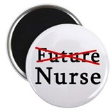 "No Longer Future Nurse 2.25"" Magnet (100 pack)"