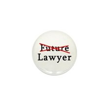 No Longer Future Lawyer Mini Button (100 pack)
