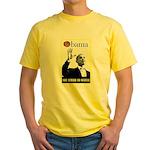Obama Waffle Yellow T-Shirt