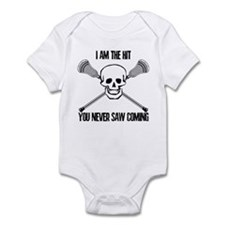 Lacrosse Never Saw Infant Bodysuit
