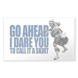 I DARE YOU... Rectangle Bumper Stickers