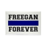 Freegan Forever Rectangle Magnet (100 pack)