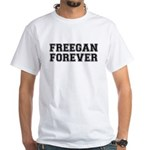 Freegan Forever White T-Shirt