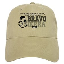 Bravo Sierra Avaition Humor Baseball Cap