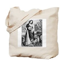 Cute Psalms 23 Tote Bag