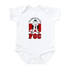 Unique Frank cho Infant Bodysuit
