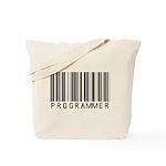 Programmer Barcode Tote Bag