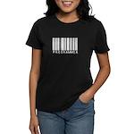 Programmer Barcode Women's Dark T-Shirt