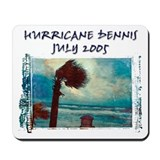 Hurricane Dennis Photo Mousepad