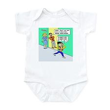 ALGEBRA LOVE IT WHEN THEY GET Infant Bodysuit
