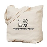 Happily Shooting Blanks Tote Bag