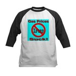 Gas Prices Suck! No Taxes On Kids Baseball Jersey