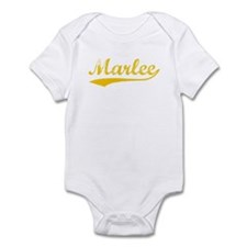 Vintage Marlee (Orange) Infant Bodysuit