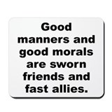 C quotation Mousepad