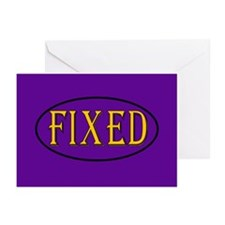 Fixed Greeting Cards (Pk of 10)