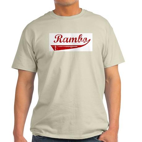 Rambo (red vintage) Light T-Shirt
