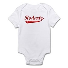 Rodarte (red vintage) Infant Bodysuit