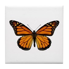 Monarch Butterfly Tile Coaster