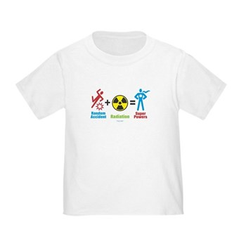 Super Powers Toddler T-Shirt | Gifts For A Geek | Geek T-Shirts