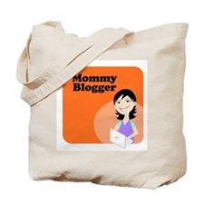 Funny Mommy blogs Tote Bag