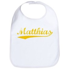 Vintage Matthias (Orange) Bib