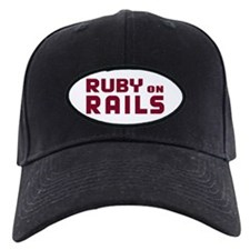 Ruby on Rails Baseball Hat