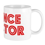 Retro Finance Dir.. (Red) Mug