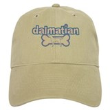 Powderpuff Dalmatian Baseball Cap