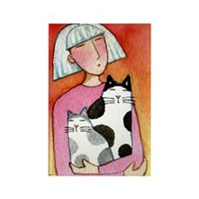 CAT MOM No.19...Magnet-no text (10 pack)