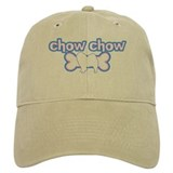 Powderpuff Chow Chow Baseball Cap