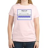 WATER UNDER THE BRIDGE Women's Pink T-Shirt