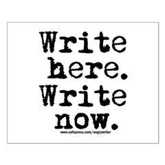 Write Here Posters
