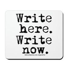 Write Here Mousepad