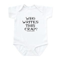 Who Writes Infant Bodysuit