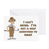 Can't Retire, Must Golf Greeting Cards (Pk of 10)
