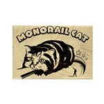 MONORAIL CAT - Retro Magnet