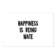 Happiness is being Nate Postcards (Package of 8)