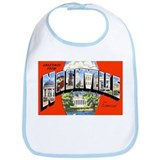 Nashville Tennessee Greetings Bib