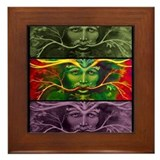 Greenman Framed Tile