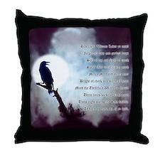 Ravens Rede Throw Pillow