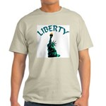 Liberty Ash Grey T-Shirt