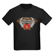 MS Heart and WIngs T