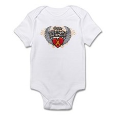MS Heart and WIngs Infant Bodysuit