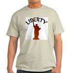 Statue of Liberty Ash Grey T-Shirt